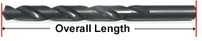 Consolidated Toledo Drill-Overall Length